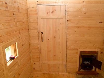 Чем утеплить дверь в бане от холода