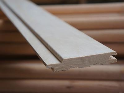 Вагонка осины для внутренней отделки бани