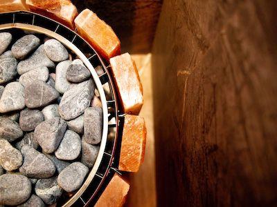 Как уложить камни в банную печь