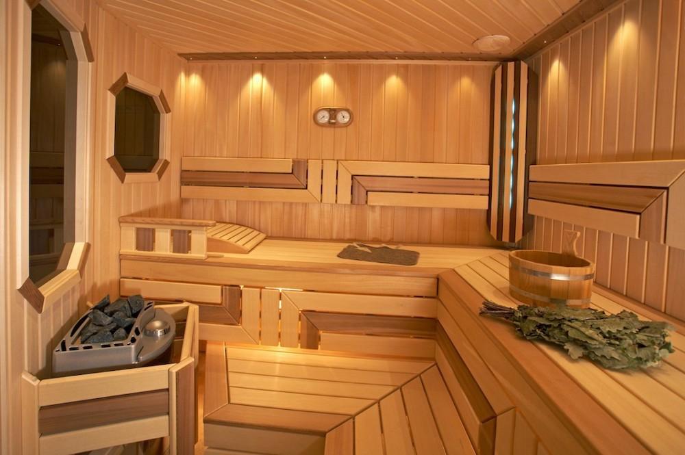 Варианты древесины для внутренней отделки бани