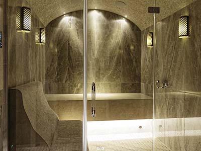 Стеклянные двери для хамам, бани и сауны