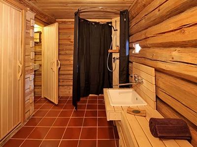 Отделка стен в помывочной бани