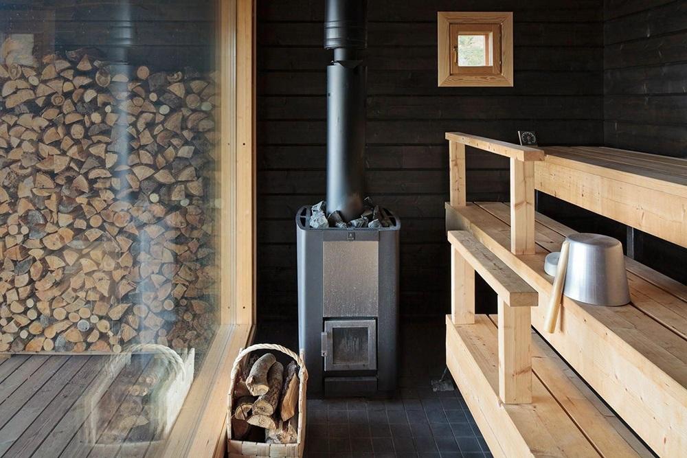 В чем преимущество дровяных печей для сауны