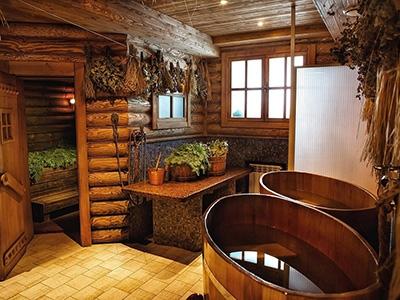 Идеи для внутреннего обустройства бани