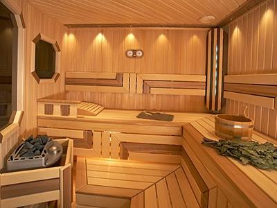 Правильная внутренняя отделка бани