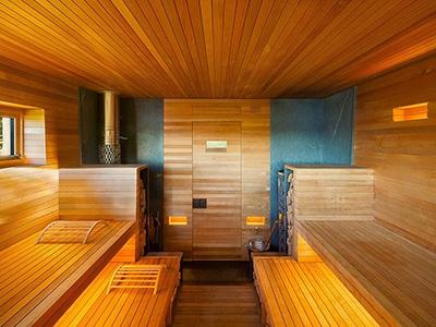 7 оригинальных идей внутреннего интерьера бани