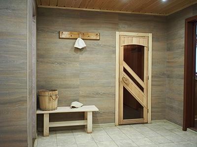 Какие банные двери лучше