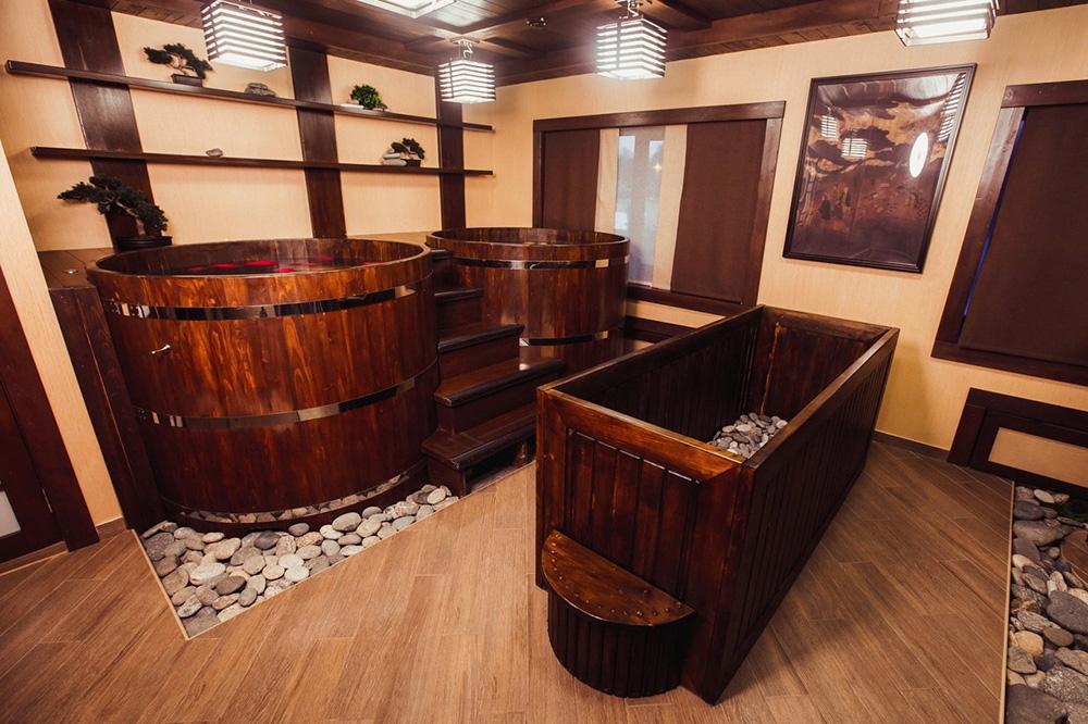 Японская баня Фурако, Офуро и Сэнто