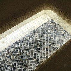 Отделка хамама с душем в КП Николина Гора, Одинцовский район, Московская область