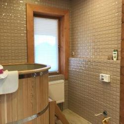Отделка помывочной комнаты в Тульской области, Романовские дачи