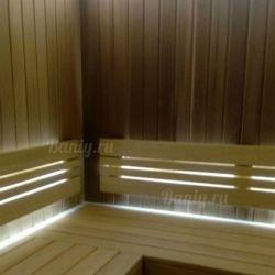 Отделка русской бани в Истринском районе, поселок Берендеевка