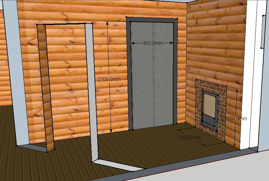 Проект бани Б-1 для частного дома, фото 2