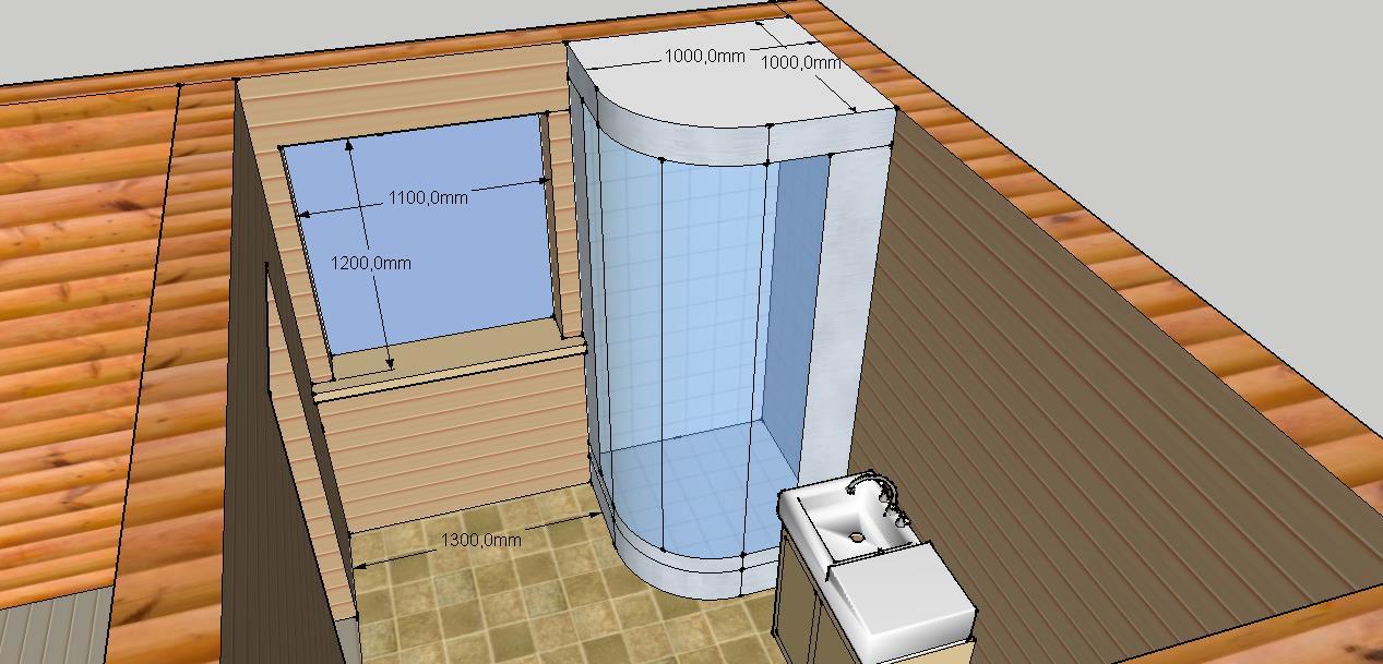 Проект бани Б-1 для частного дома, фото 5
