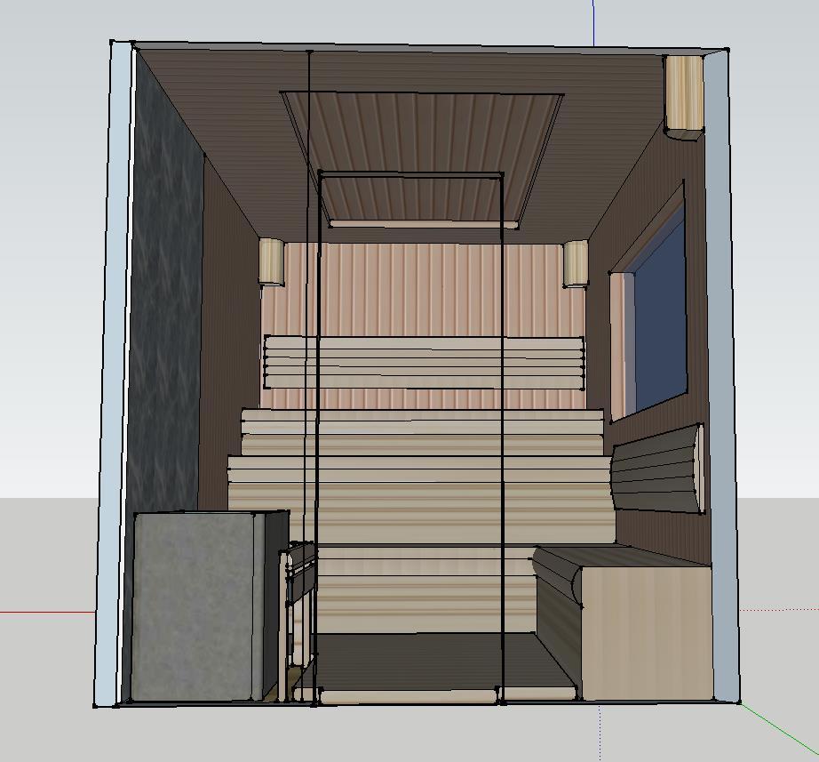 Проект сауны С-1 для частного дома или квартиры, фото 5