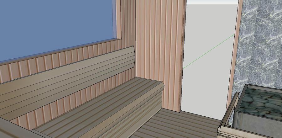 Проект сауны С-1 для частного дома или квартиры, фото 7
