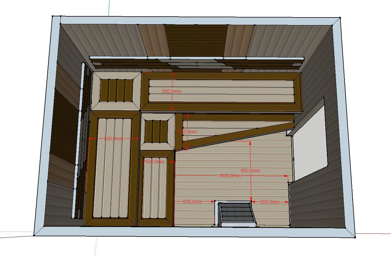 Проект сауны С-2 для частного дома или квартиры, фото 4
