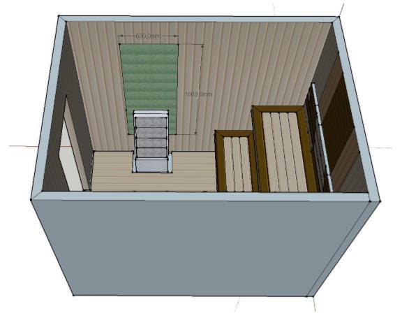 Проект сауны С-2 для частного дома или квартиры, фото 7