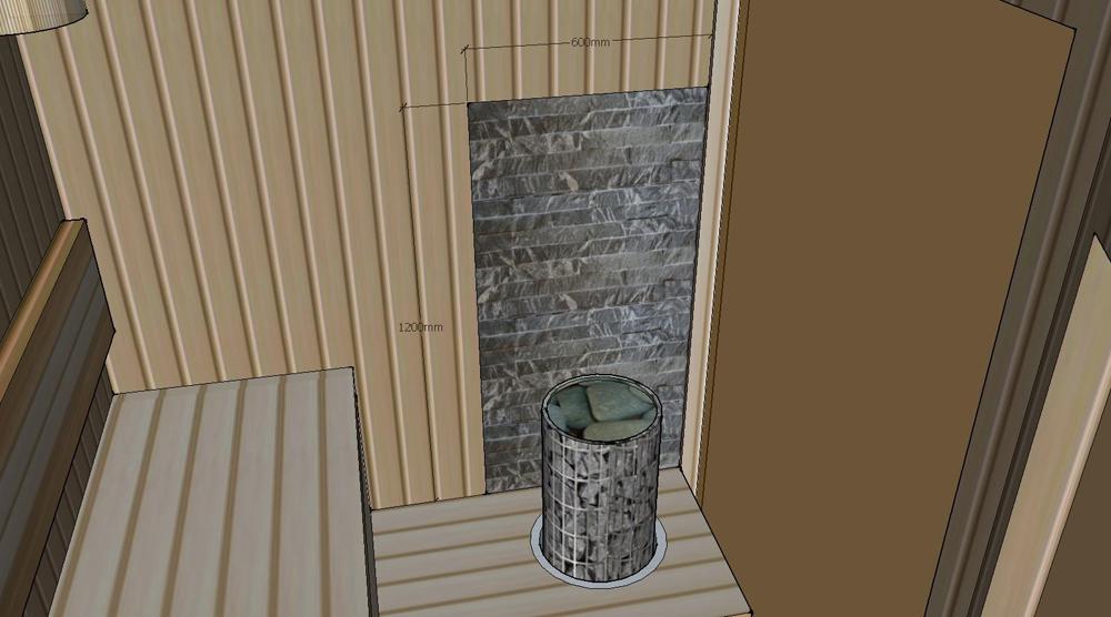 Проект сауны С-3 для частного дома или квартиры, фото 3