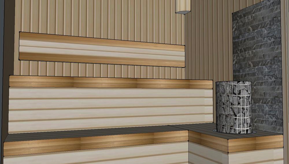 Проект сауны С-3 для частного дома или квартиры, фото 5