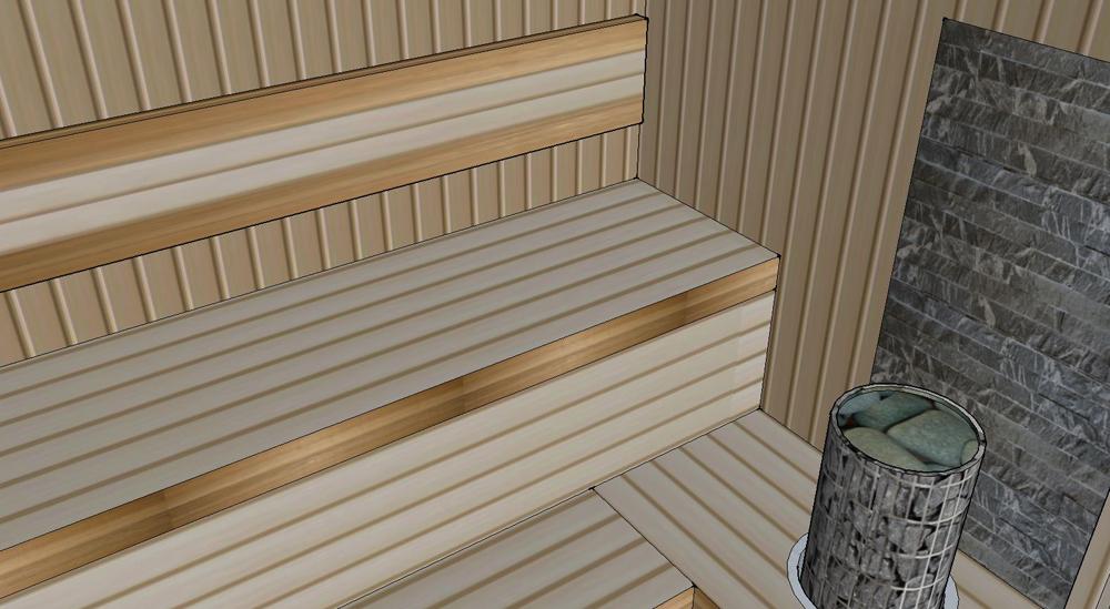 Проект сауны С-3 для частного дома или квартиры, фото 6