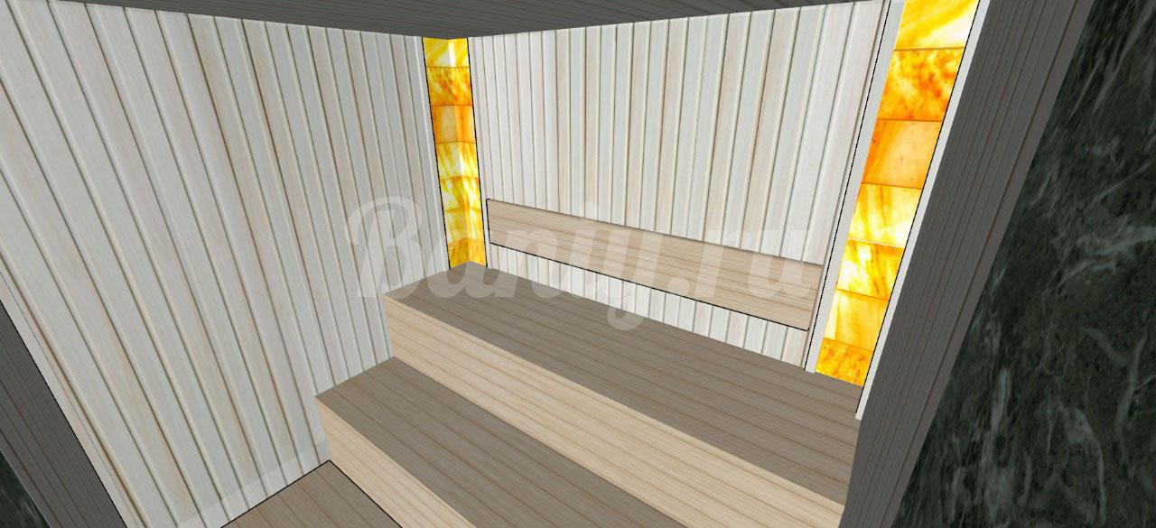 Проект сауны С-5 для частного дома или квартиры, фото 2