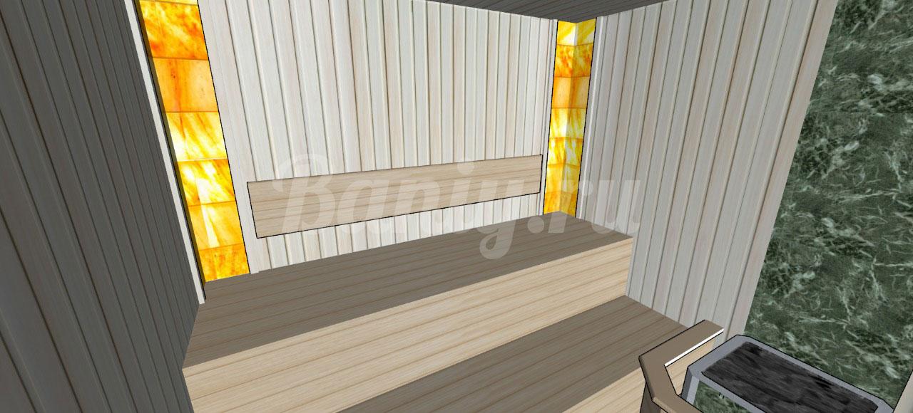 Проект сауны С-5 для частного дома или квартиры, фото 3