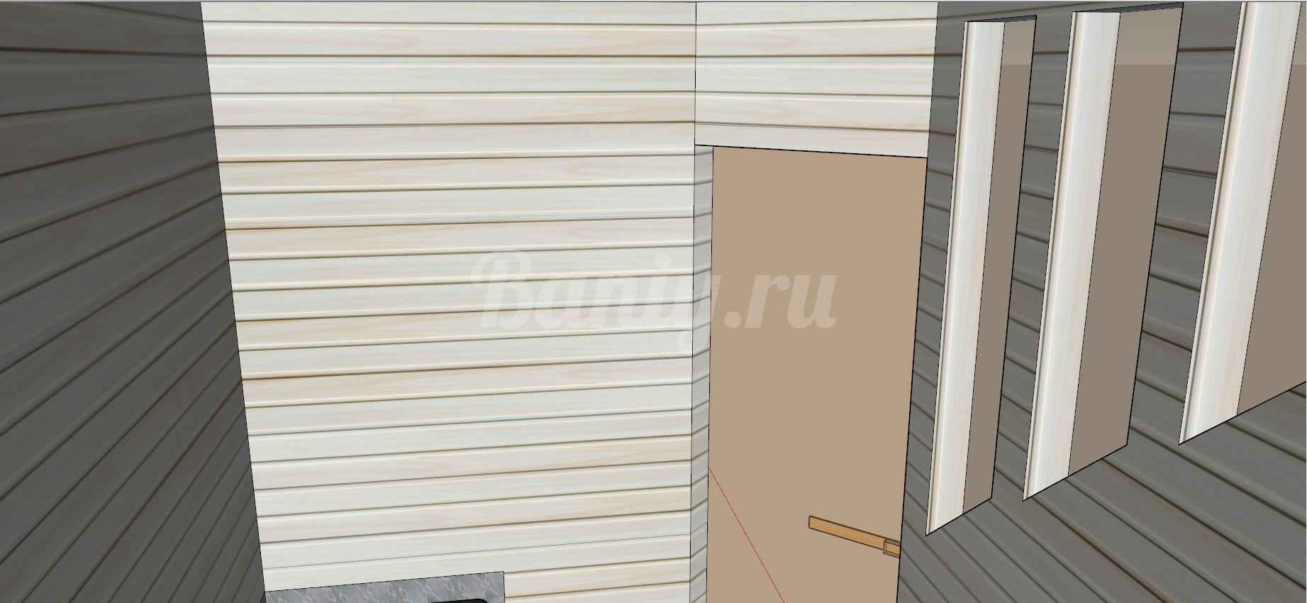 Проект сауны С-8 для частного дома или квартиры, фото 10