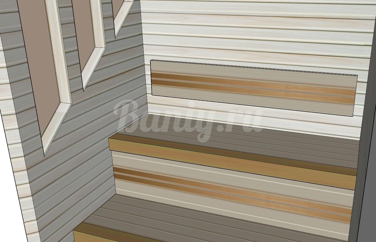 Проект сауны С-8 для частного дома или квартиры, фото 7