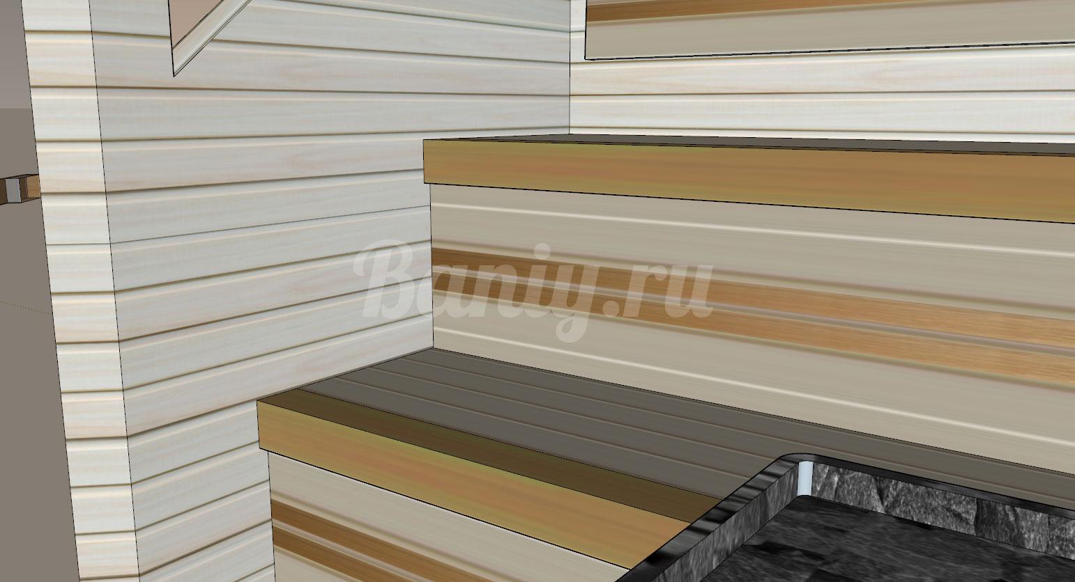 Проект сауны С-8 для частного дома или квартиры, фото 9